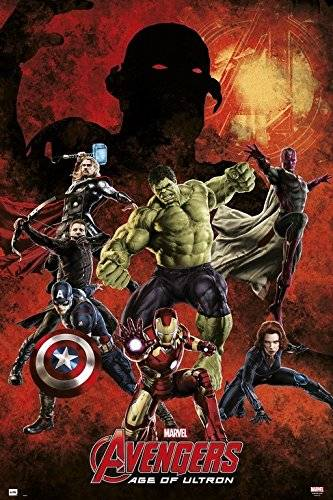 Grupo Erik Editores   Poster Marvel Avengers Age Of Ultron