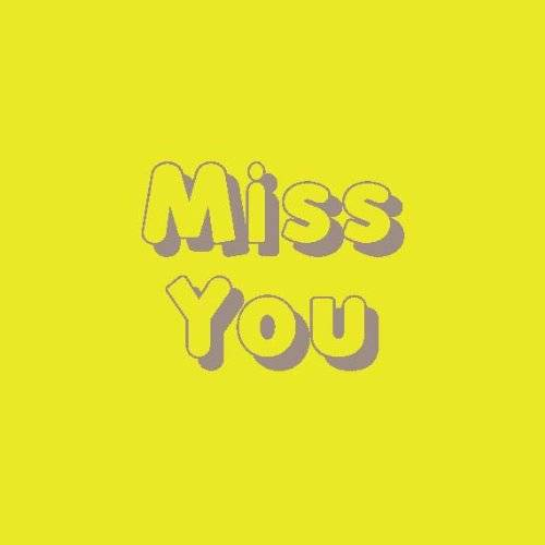 OfficeCentre Big Pasty Productions Vibrant Miss You Greeting Card