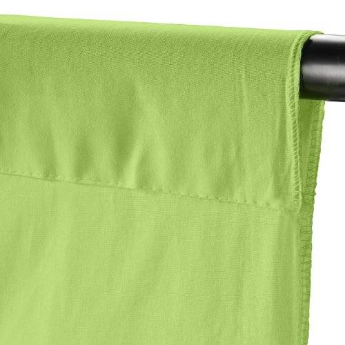 Walimex Cloth Background - Tela para fondo fotográfico, 2.85 x 6 m, light green