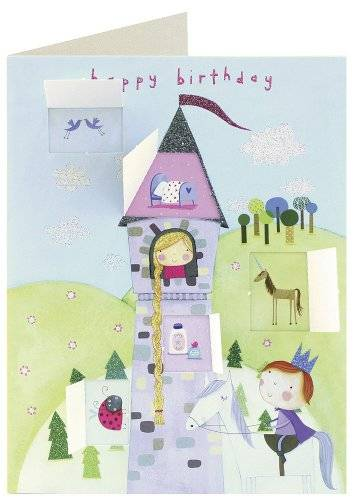 OfficeCentre James Ellis Behind Closed Doors Rapunzel Lift the Flap Birthday Card
