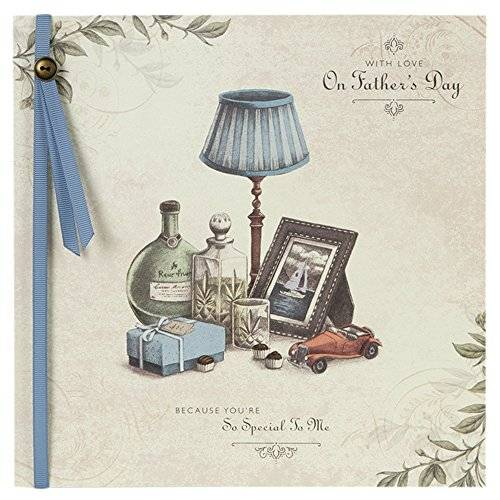 OfficeCentre Hallmark Large Square Father's Day Traditional 3D Attachment Card