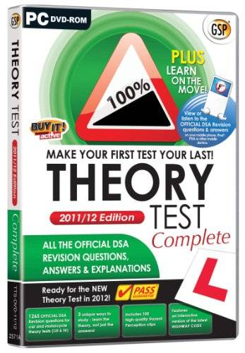 Avanquest Software Driving Test Theory Test Complete 2012 (PC)