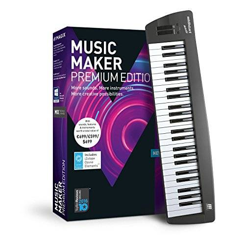 Magix Music Maker 2018 Control Edition - Software De Producción De Música, PC, DVD-ROM