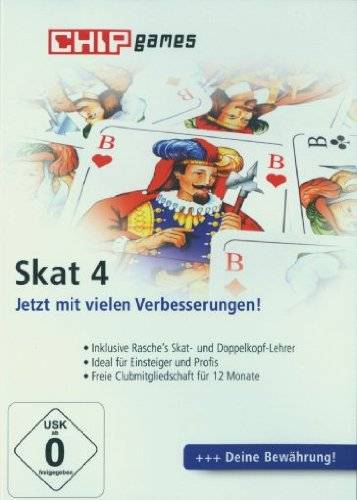 CHIP Communications GmbH Skat 4 - [PC] [Importación Alemana]