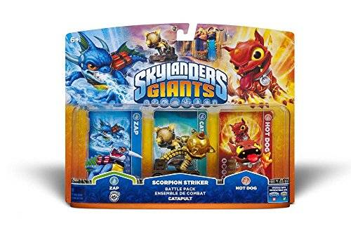 ACTIVISION Skylanders: Giants - Pack Battle: Zap + Capapult + Hot Dog
