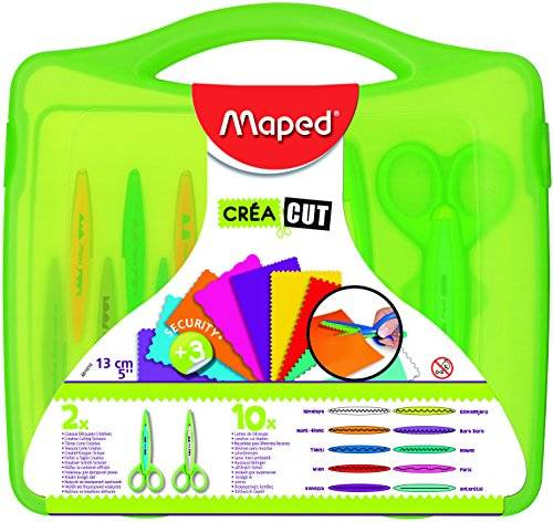 Maped 601010 - Maletín con tijeras multicorte