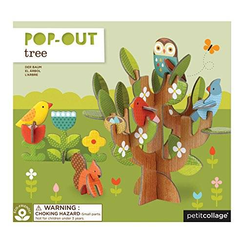 Petit Collage Tree Pop-Out