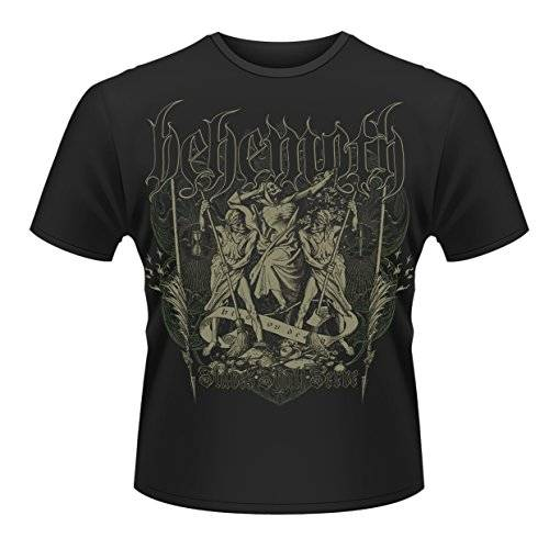 Behemoth - Slaves Shall Serve Front & Back Print (T-Shirt Unisex Tg. XL) [Italia]