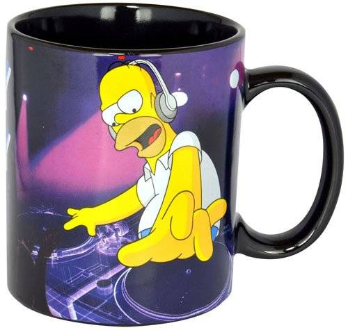 The Simpsons - Tasse DJ Homey