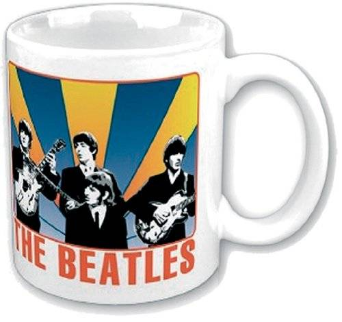 Tazza the Beatles Shine Behind