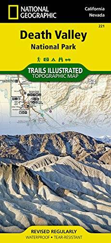 National Geographic Death Valley National Park : 1/165 000: NG.NP.221 (Trails Illustrated Map)