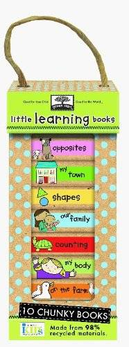Little Learning Books: 10 Chunky Books (Green Start)