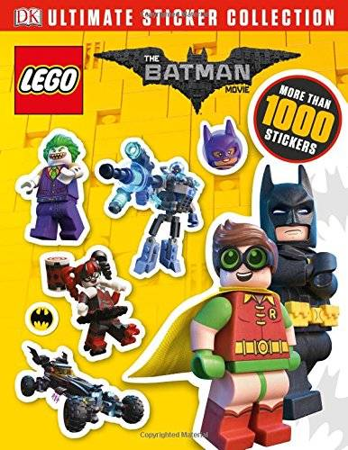 DK The LEGO® BATMAN MOVIE Ultimate Sticker Collection