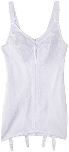 National Geographic Library Body copa completa para mujer, color blanco