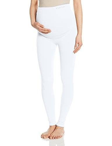 CACI Illusion - Leggings para mujer, color off-white (ivory), talla Large/X-Large