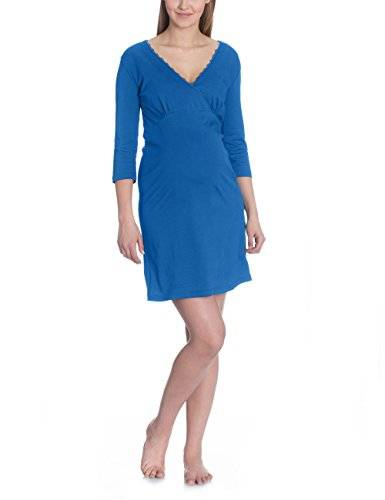 Bellybutton Honoria - Nachthemd 1/2 Arm - Camisón para mujer, color blau (true navy 3580), talla xs