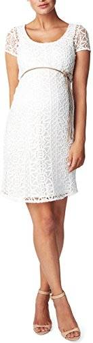 Noppies Dress woven ss Elise-Vestido Mujer    Marfil (Off White C010) 38