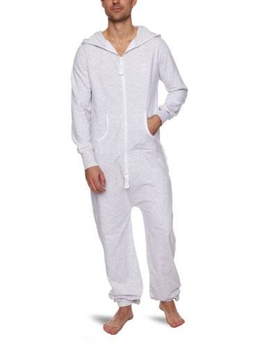 One Piece OnePiece P-LW10021 - Mono Unisex adulto, Gris (Greymelange), XX-Small (Talla del fabricante: XX-Small)