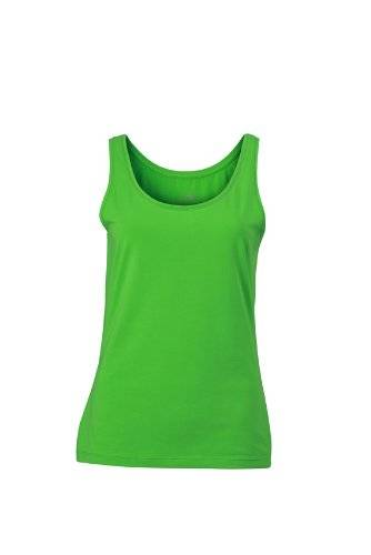 James & Nicholson Top Ladies Elastic - Camisa de maternidad Mujer, Verde (Lime-Green), X-Large (Talla del fabricante: X-Large)