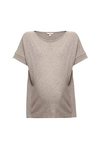 Bellybutton Pullover 1/4 Arm, Jersey Premamá para Mujer, Gris, M