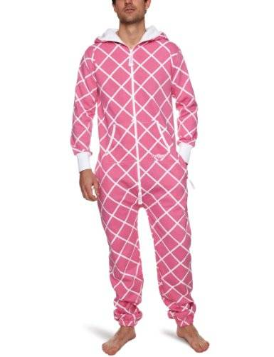 One Piece OnePiece - Mono unisex, talla Large, color Rosa (New Pink/Blanco)