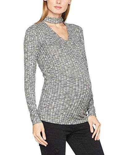 Noppies Pullover Ls Giovanna, Jersey Deportivo para Mujer, Gris (Anthracite Melange C247), 36