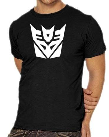 Touchlines T-Shirt Transformers Decepticon - Camiseta, color negro, talla S