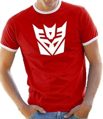Touchlines B5074 - Camiseta para hombre, color red/white, talla S