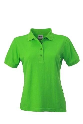 James & Nicholson Polo Ladies Workwear - Camiseta / Camisa deportivas , color verde lima (lime-green), talla S