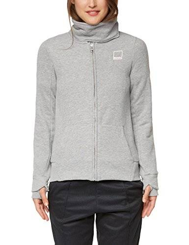 Bench Her. Sweat Funnel, Sudadera para Mujer, Gris (Winter Grey Marl Ma1054), Small