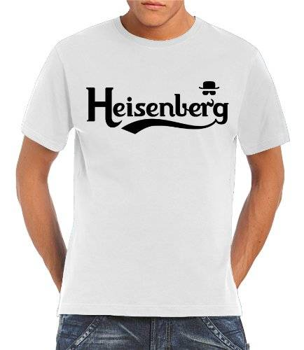 Touchlines T-Shirt Heisenberg Fly - Camiseta, color blanco, talla 5XL