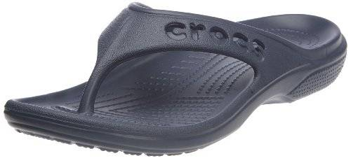 Crocs Baya - Chanclas unisex, color azul, talla 36/37