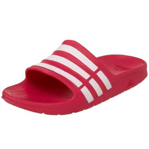 Adidas Duramo Slide, Zapatillas Unisex Niños, Rosa (Pink Buzz/Running White/Pink Buzz), 34 EU (2 UK)