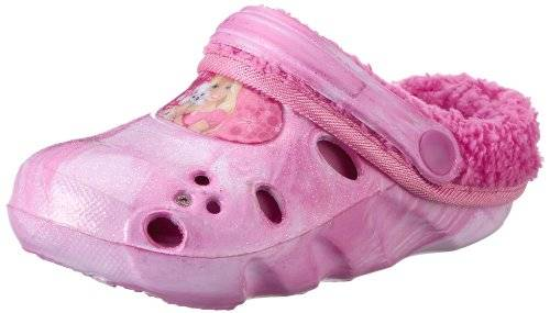 Barbie girls kids clog sandals & mules - Zuecos de goma niña, color multicolor, talla 25