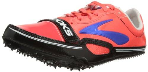 Brooks Browar Timing Systems Pr Sprint 11.38 - Zapatos, color Fiery Coral/Electric Blue/Black, talla 43