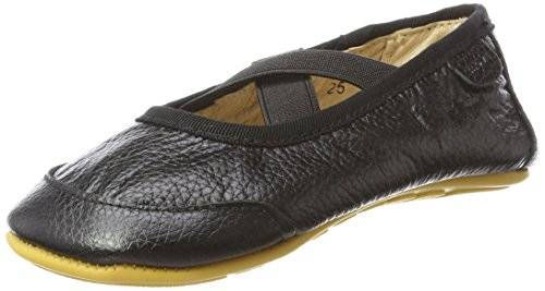 Melton Move by MeltonMove Prewalker Mädchen Ballerinas - Zapatillas de Gimnasia Niñas , color negro, talla 25