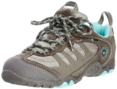 Hitachi Windermere Low Wp W - Botas para mujer, color grey/aqua, talla 38