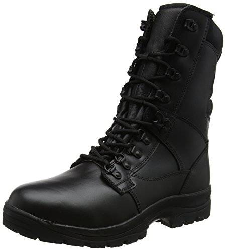 Magnum Elite II Leather, Botas de Trabajo Unisex Adulto, Negro (Black), 45 EU