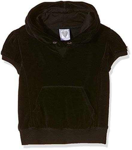 The North Face Short Sleeve Pull On Hoodie, Top para Niños, Negro, 10-11 Años