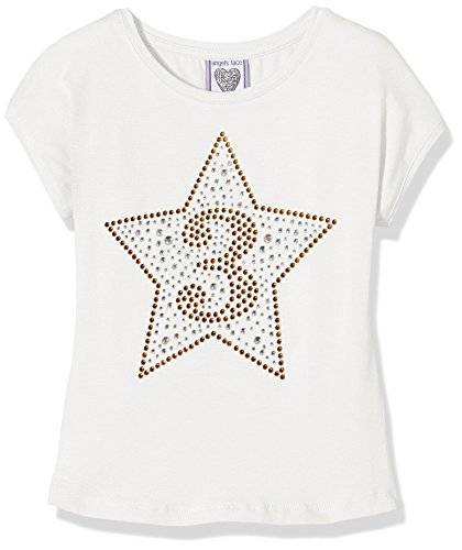 The North Face Birthday Star T-Shirt, Top para Niños, Blanco Roto, 5 Años