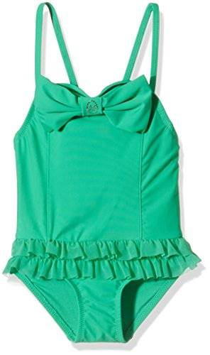 The North Face Roma Bathing Suit, Baño para Niñas, Verde (Jade Green), 3-4 Años