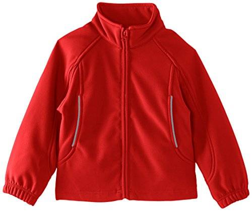 Trutex Soft Shell - Abrigo, con manga larga para niños, color red (scarlet), talla 8 años/128