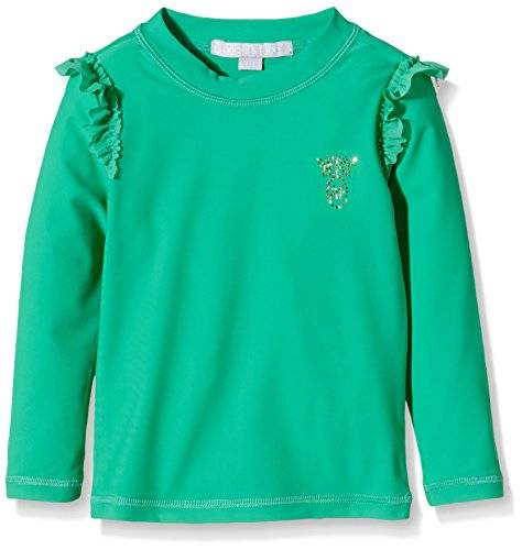 The North Face San Lorenzo Rash Top, Vestido para Niñas, Verde (Jade Green), 6-7 Años