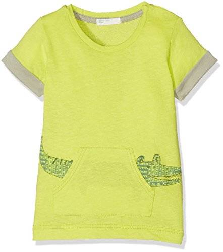 United Colors of Benetton T-Shirt, Camiseta Para Bebés, Verde (Lime Green), 0-3 Meses (Talla del Fabricante: 56)