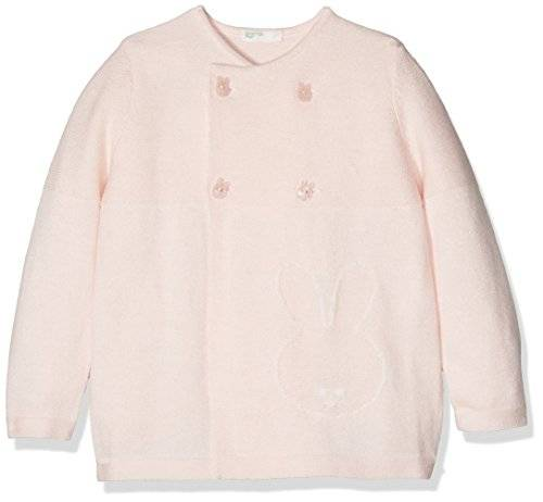 United Colors of Benetton L/s Sweater, Sudadera para Bebés, Rosa (Light Pink 003), 74
