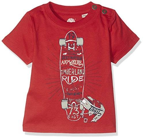 Timberland T05G28, Camiseta para Bebés, Rouge (New Red), 4 Años