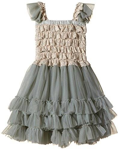 The North Face Angels Face Ballroom Dress Metal-vestido Niños    Gris Gris (Metal) 4 años