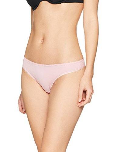 Iris & Lilly Tanga para Mujer, Pack de 5, Multicolor (Pink Nectar/white/navy Sky), Small