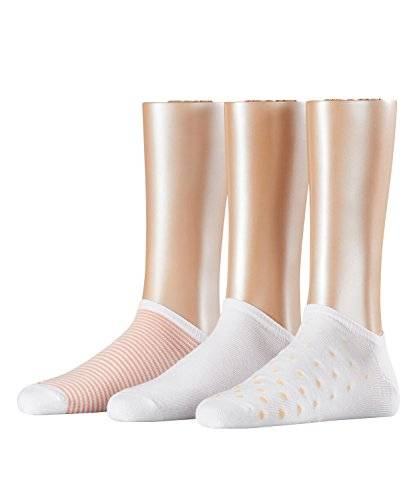 Esprit Pattern Mix, Calcetines para Mujer, Mehrfarbig (White 2000), 36/41 (Pack de 3)