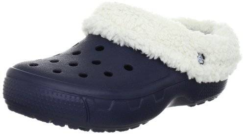 Crocs Mammoth Core Full Collar 12878-55V-160 - Zuecos unisex, color azul, talla 36-37